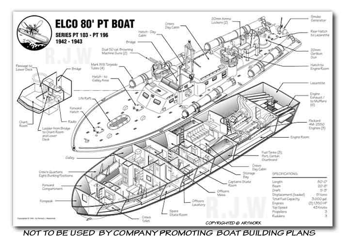 Pontoon boat kits uk, free sailing boat uk, elco 80' pt boat plans ...
